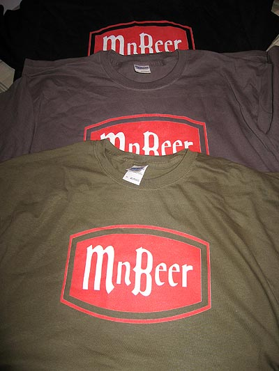 MNBeer t-shirts