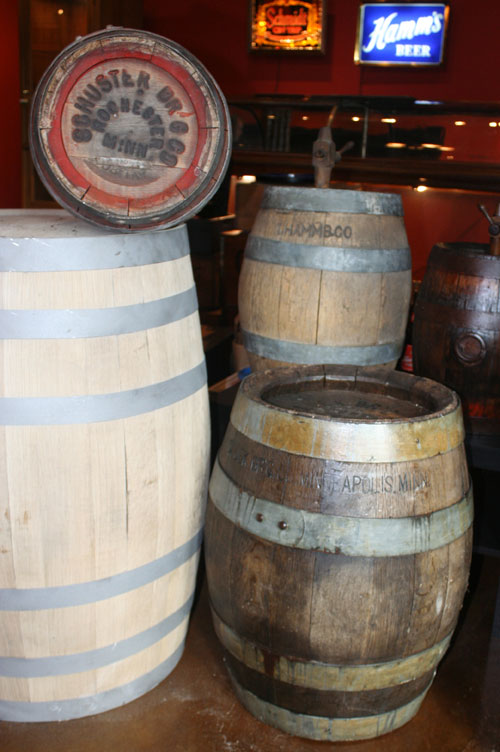 Some cool pre-and post prohibition barrels