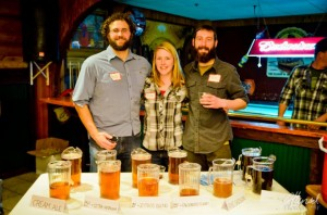 Bud, Tina and Tom of the Bemidji Brewing Co.