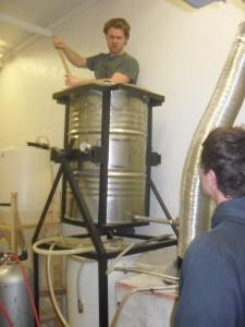 Junkyard Brewing mash