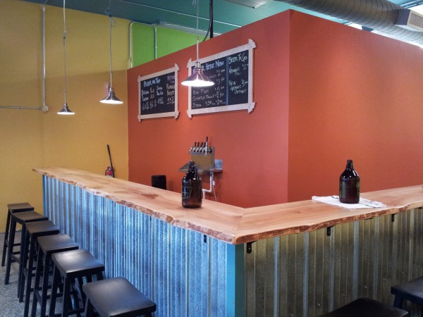 Taproom Bar Corner
