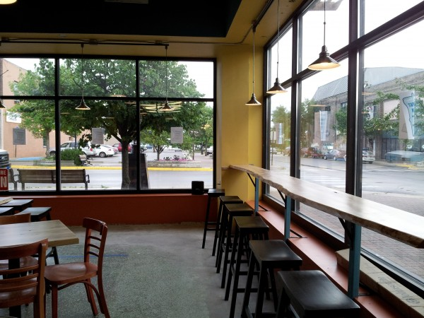 Taproom Windows