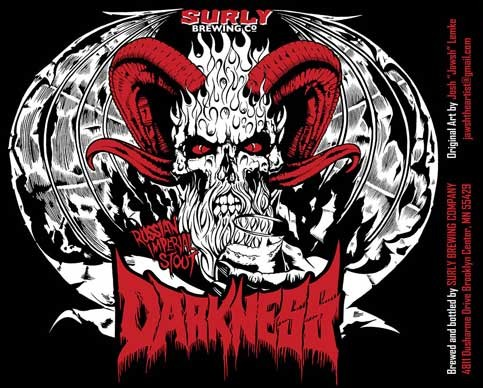Surly Darkness 2013 label