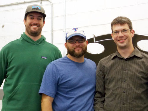 Tuck, Adam & Todd, Northgate Brewing Co.