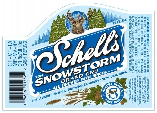 Schell's Snowstorm 2014: Grand Cru