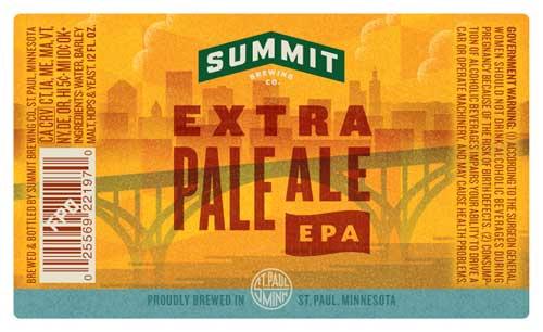 Summit 's new label designs.