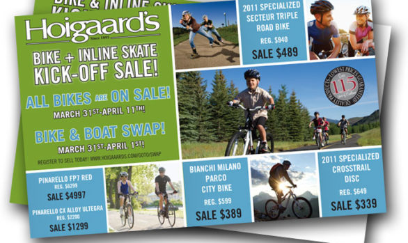 Hoigaard's Direct Mail Postcards
