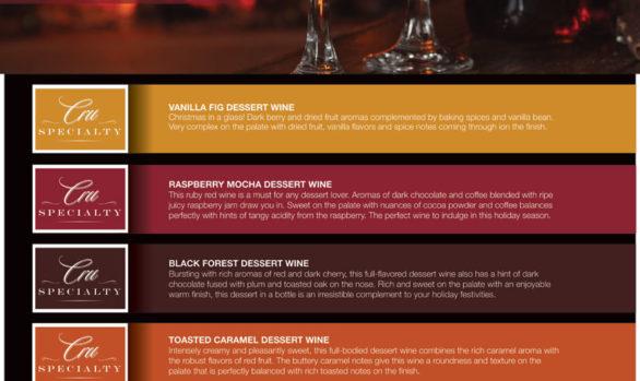 BSG Handcraft Dessert Wine Poster