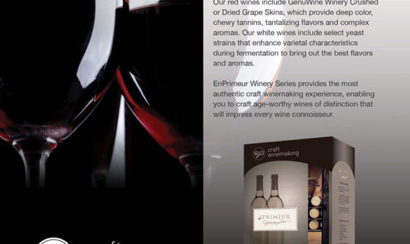 Winemaker Magazine Print Ads