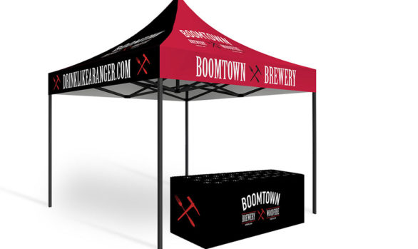 Pop-Up Tent and Table Cover