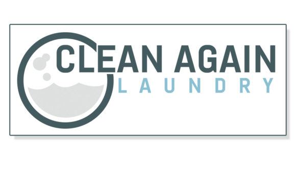 Clean Again Laundry Logo & Signage